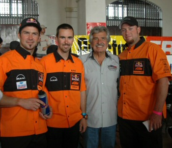 KTM Baja 500 2007 Team and Sal Fish