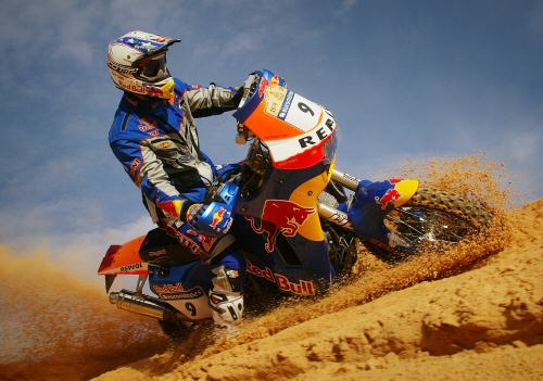"Chris Blais iin Tunisia Dakar Rally Bike #9  ""GET YOUR OWN FREE WALLPAPER FOR YOUR DESKTOP"""