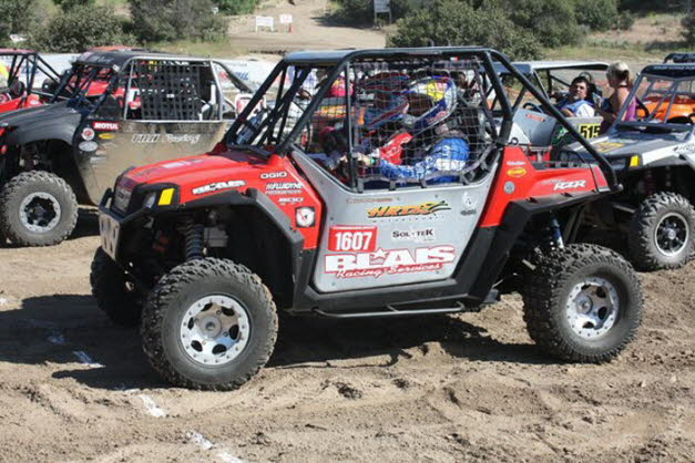 2010 Chris Blais RZR at  start line Anza