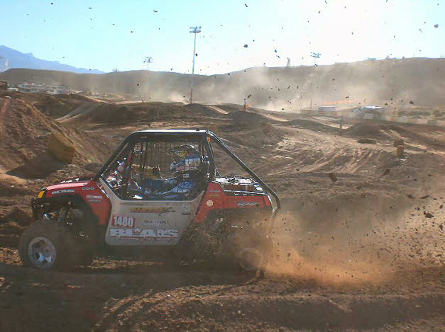 Chris racing in Mesquite, NV 10/2009