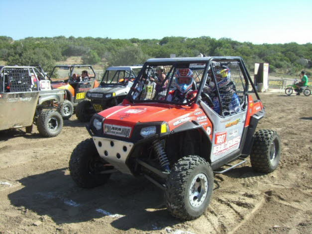Chris and Robin WORCS UTV Race in Anza 2010